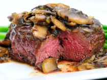 BEEF WITH MUSHROOMS _600
