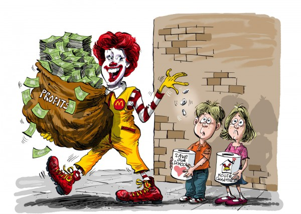 Clowning_Around_With Charity How McDonalds Exploits Philantropy