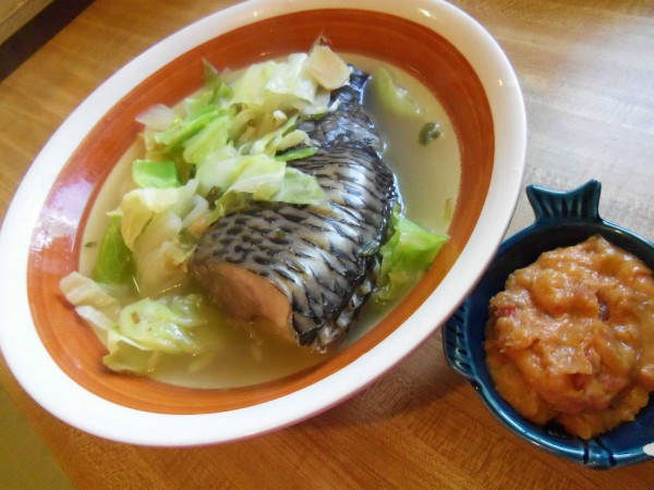 Fish Soup with Ginger and Chinese Cabbage