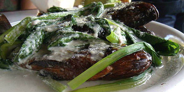 Grilled-Fish-With-Coconut-Cream-And-Mustard-Leaves N