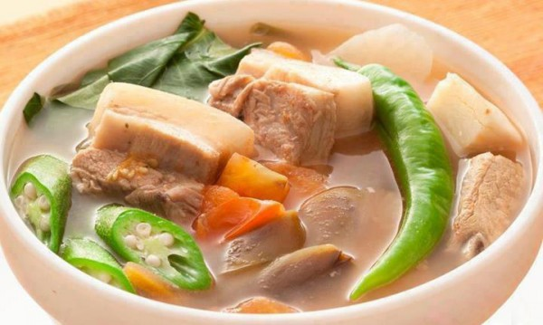 Pork Meat With Vegetables And Legumes
