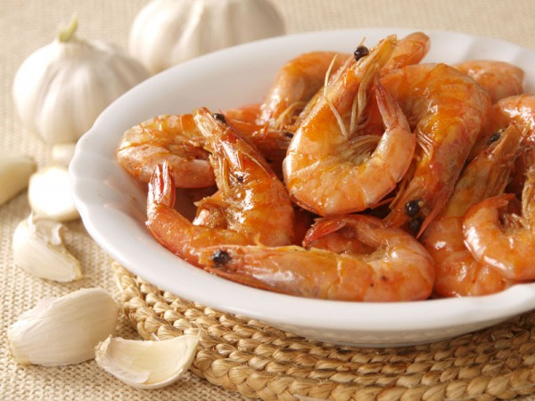 Shrimp Cooked In Filipino Way