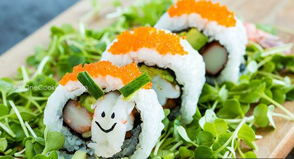 Sushi Sheep with decorations