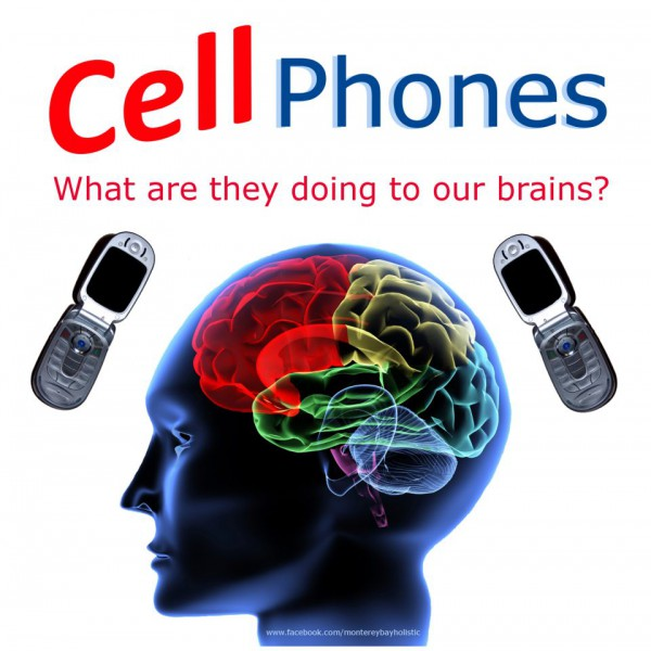 cell-phones radiation brain