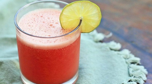 watermelon juice with lemon